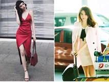 """Ngọc Trinh bất ngờ kín đáo, Angela Phương Trinh đổi mốt """"mái ngố"""" lạ lẫm trong street style tuần này"""