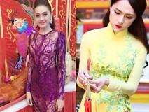 Sốc với thời trang khác biệt của Lâm Chi Khanh và Hương Giang Idol khi vào chốn linh thiêng