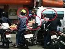 Dừng xe thay lốp trên đường, mất gần 100 lượng vàng ở Sài Gòn