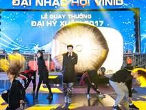 Noo Phước Thịnh bất chấp lạnh tập luyện Đại Nhạc Hội VinID