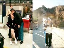 Hoàng Kiều ôm hôn tiễn Ngọc Trinh về nước