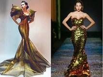 Những chiếc váy vàng biến các sao Việt thành mỹ nhân ngư trong nháy mắt