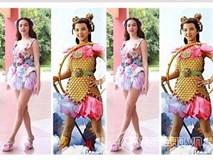 Thách bạn nhịn được cười trước loạt ảnh chế thời trang quái dị của mỹ nhân Việt