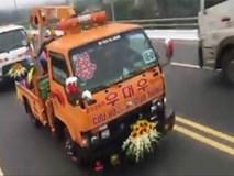 Clip: Màn rước dâu bằng xe cứu hộ giao thông độc đáo của chú rể ở Vĩnh Phúc