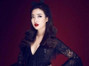Hoa hậu Mỹ Linh hóa thành quý cô gợi cảm