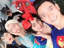 """Lộ ảnh Lê Kiều Như chụp cùng diễn viên Spiderman Elsa, nhận là """"do nhà mình sản xuất"""", rủ các mẹ cho con xem"""