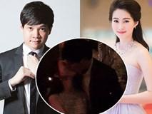 Clip: Hoa hậu Đặng Thu Thảo bật khóc, hôn bạn trai say đắm trong tiệc sinh nhật