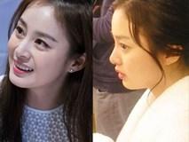Trang điểm xinh như mộng nhưng ai cũng giật mình khi Kim Tae Hee để mặt mộc