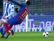 Neymar lập công, Barcelona nhọc nhằn đánh bại Sociedad