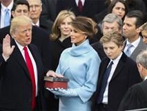 Ông Donald Trump chính thức trở thành tổng thống thứ 45 của Mỹ