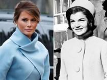 """Trong lễ nhậm chức, bà Trump đã """"xào"""" ngay phong cách thời trang của hai cựu Đệ nhất phu nhân!"""