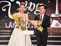 Trường Giang đại thắng 'Mai vàng', lần đầu nói lời yêu Nhã Phương trên sân khấu