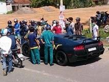 Siêu xe Lamborghini tông chết người