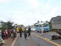 Xe biển xanh gây tai nạn, 2 nữ giáo viên tử vong