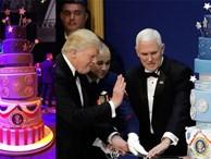 Sau sự cố 'đạo' bài phát biểu của bà Melania lại đến vụ 'đạo bánh' trong lễ nhậm chức của Tổng thống Donald Trump