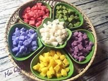 Cô giáo xinh đẹp dạy làm mứt dừa hạt lựu đủ màu cực đẹp gây sốt