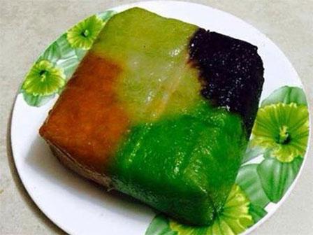 Những kiểu bánh chưng độc đáo dịp Tết cổ truyền