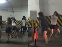 8 cô gái mặc váy ngắn và quần short hỗn chiến ở Biên Hòa, đánh luôn nhân viên bảo vệ