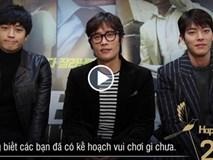 Bộ ba 'Ông Trùm' Hot nhất xứ Hàn gửi lời chúc mừng năm mới đến khán giả Việt