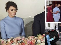 Nhiều người lo lắng khi nhìn thấy những hình ảnh này của Đệ nhất phu nhân Mỹ Melania Trump
