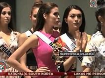 Clip: Lệ Hằng cùng dàn thí sinh Hoa hậu Hoàn vũ tập luyện chuẩn bị cho bán kết