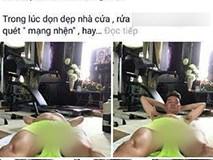 """Đàm Vĩnh Hưng khiến khán giả """"nóng mặt"""" vì đăng hình tập thể dục với tư thế phản cảm"""