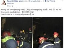 Nhà Hoa hậu Diệu Linh bị thiêu rụi đúng ngày 30 Tết