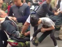 Bị nghi bỏ chạy sau khi va quệt làm vỡ gương xe, người lái xe ba gác bị nhóm thanh niên đánh đập giữa phố