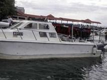 Tàu chở 28 khách Trung Quốc chìm ở vùng biển Malaysia
