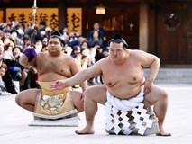 """18.000 người nô nức mừng sumo Nhật nhận danh hiệu """"Thiên hạ vô song"""" sau 20 năm"""
