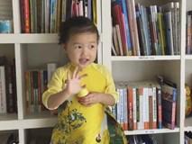 Bé gái Việt 3 tuổi nói chúc mừng năm mới bằng 11 thứ tiếng