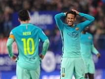 Messi tỏa sáng, Barca có nửa vé chung kết cúp Nhà vua