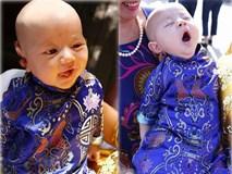 """Không nghi ngờ gì nữa, đây chính là cậu bé lai, cute """"vô đối"""" trong showbiz Việt"""