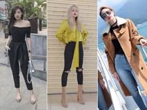 Đâu chỉ có áo dài cách tân, street style đón Xuân của sao Việt còn rực rỡ thế này cơ mà!