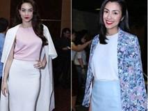 Học Hà Tăng, Hà Hồ mặc váy bút chì ngay đi - mốt hot nhất 2017