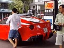 Đi đổ xăng cho siêu xe gặp người bán vé số, hành động của Cường Đô la khiến ai cũng bất ngờ