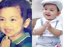 Phan Hiển khoe ảnh hồi bé, ai cũng choáng khi so sánh với con trai Kubi bây giờ