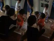 Lại xuất hiện thêm clip cô giáo quát nạt, dí roi vào mặt trẻ ở trường MN Sen Vàng