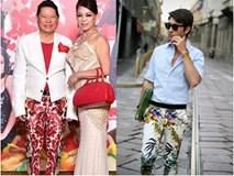"""Quần hoa loè loẹt của tỷ phú Hoàng Kiều trở thành """"mốt"""" gây sốt làng thời trang"""