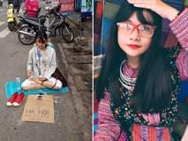 Nhan sắc hot girl ngồi xin tiền tại Đồng Nai làm nhiều người bất ngờ