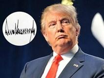 """So với những người tiền nhiệm, chữ ký """"dây thép gai"""" của Tổng thống Donald Trump có gì khác biệt"""