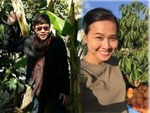 Vườn nhà trĩu quả Việt của Bằng Kiều và Quang Lê trên đất Mỹ