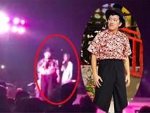 Clip: Hình ảnh rõ nét nhất danh hài Trường Giang bỏ sân khấu vì bị ném chai