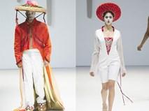 Mấn đội đầu, nón quai thao bất ngờ xuất hiện tại tuần lễ thời trang New York