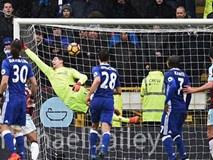Costa và Hazard bị phong tỏa, Chelsea bất lực trước Burnley