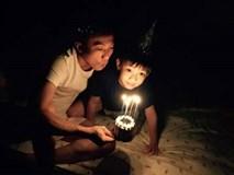 Video: Cường Đô La hạnh phúc khoe Su Beo vẽ tặng tranh và hát tặng mừng sinh nhật