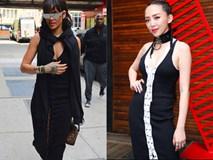 Đụng váy hàng hiệu, Tóc Tiên liệu có vượt qua nổi Rihanna
