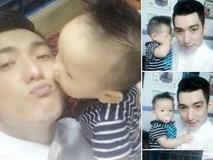 Bảo Duy hạnh phúc khi được gặp con trai sau chuỗi ngày căng thẳng với Phi Thanh Vân
