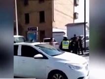 'Cậy' mang thai, cô gái ngang nhiên mắng chửi, tấn công cảnh sát giao thông