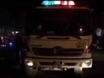 Cảnh sát cứu xưởng chứa quân tư trang cháy đêm Valentine